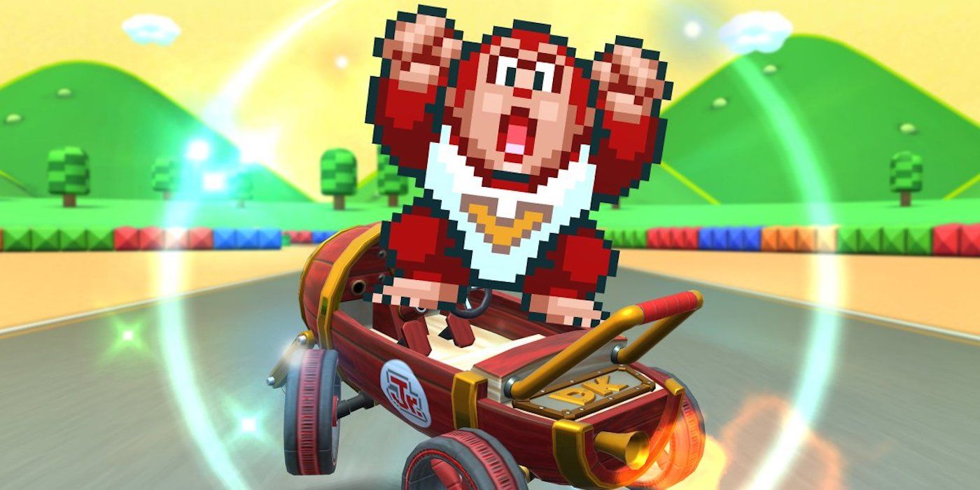 Mario Kart Tour Event Centers Donkey Kong Characters | Game Rant
