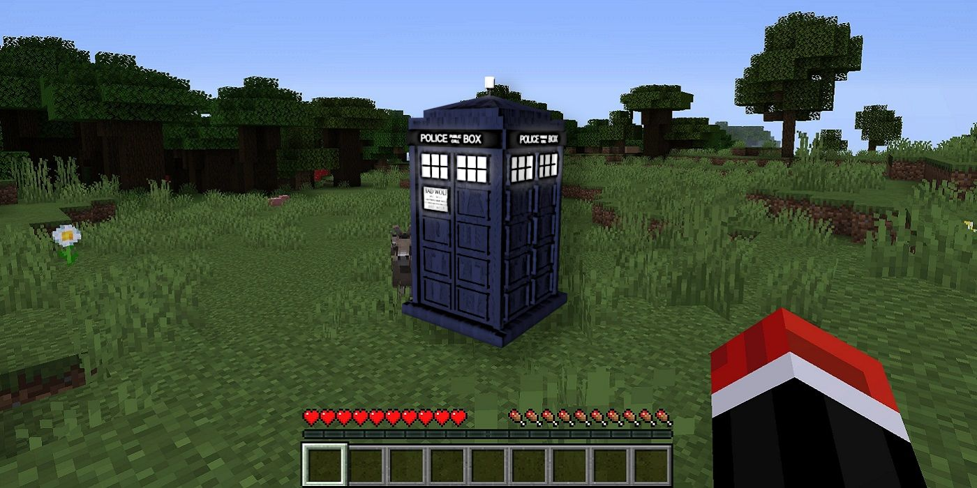 Someone Has Actually Built a TARDIS in Minecraft With Physics-Defying Interior