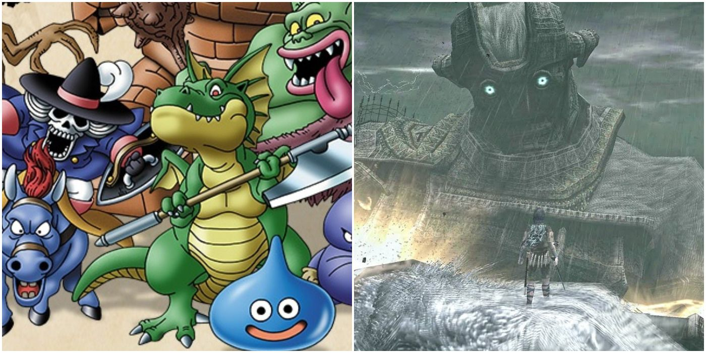10 Game Series With Amazing Monster Design