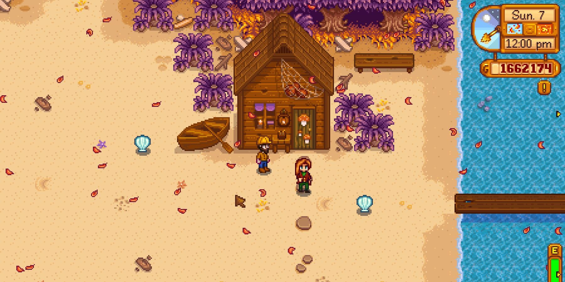 Stardew Valley: How to get Rainbow Shells and What They're For