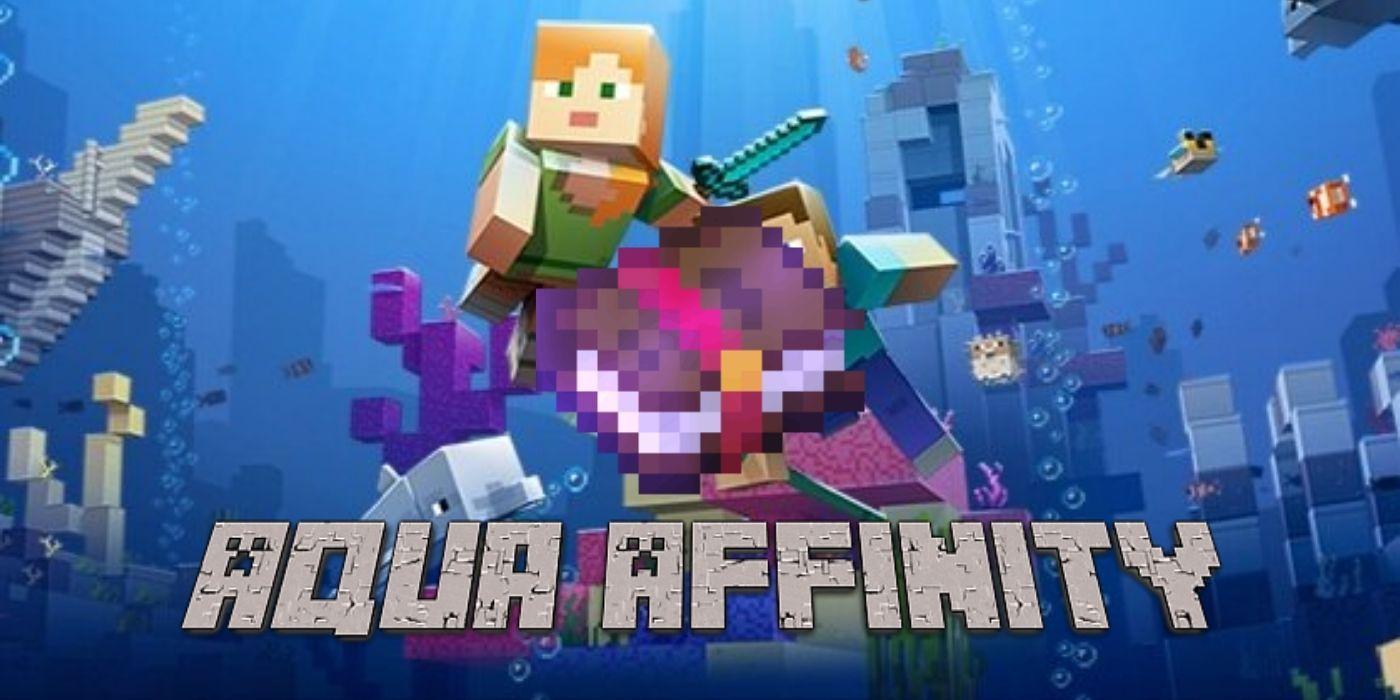 Minecraft: What Does Aqua Affinity Do?