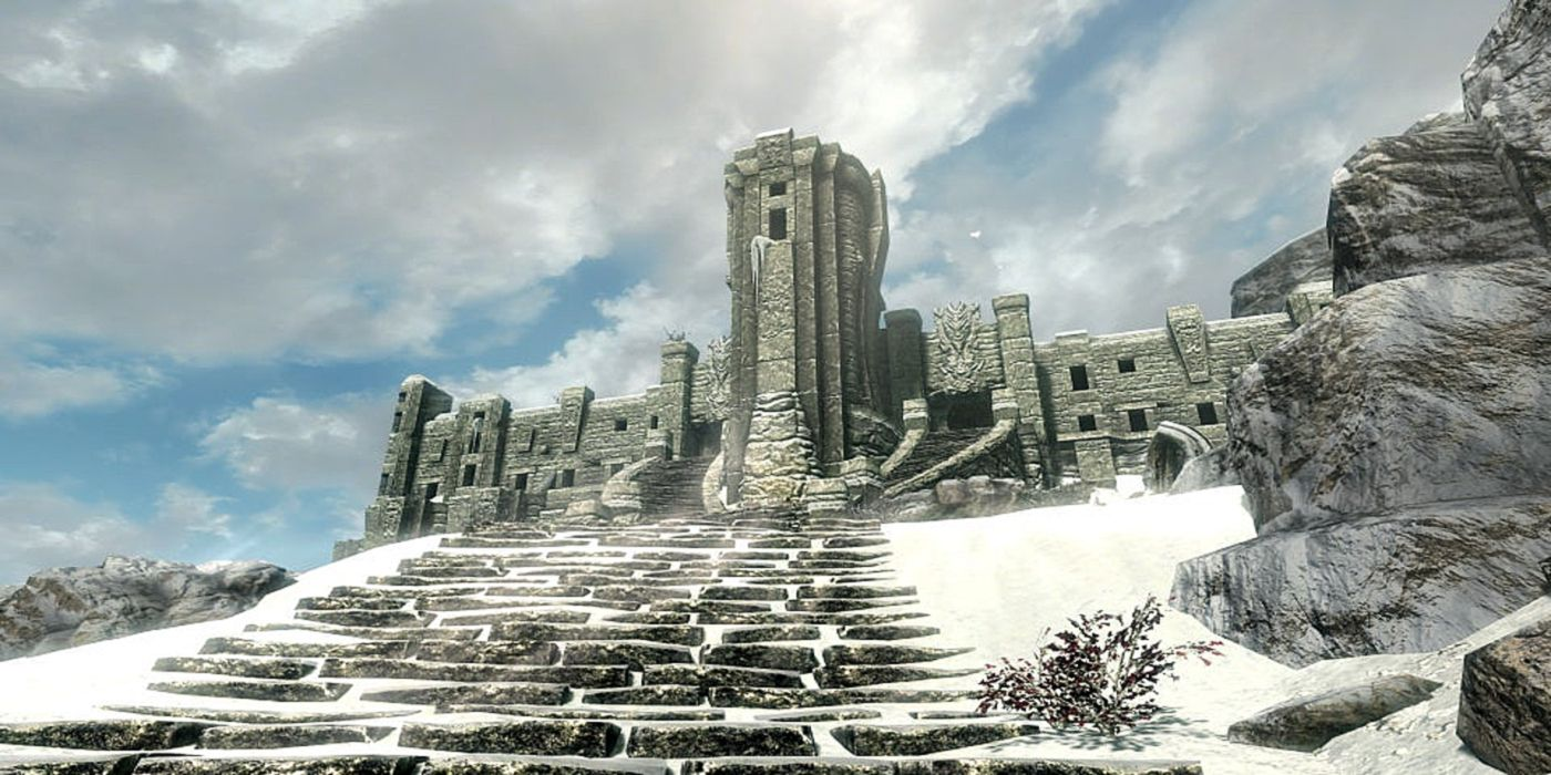 Skyrim Player Discovers Secret Effect Gained at the Seven Thousand Steps