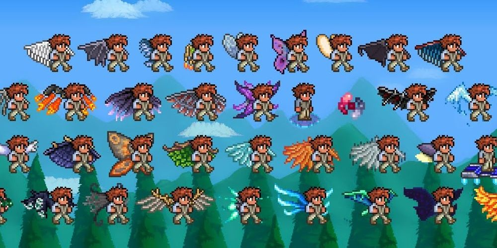 Terraria: The 10 Best Wings In The Game, Ranked