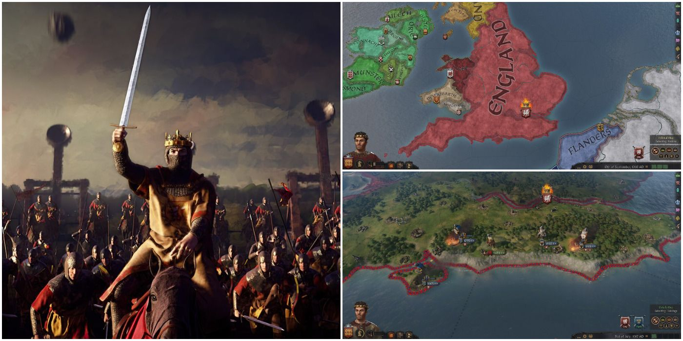 Crusader Kings 3: How To Invade England As William The Conqueror