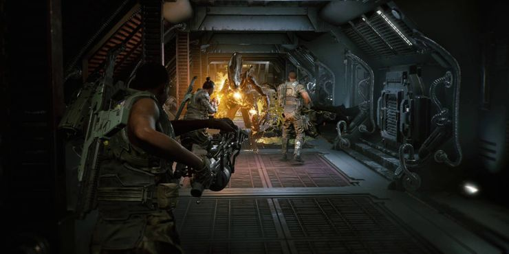 чужой-fireteam-elite-огнемет-скриншот