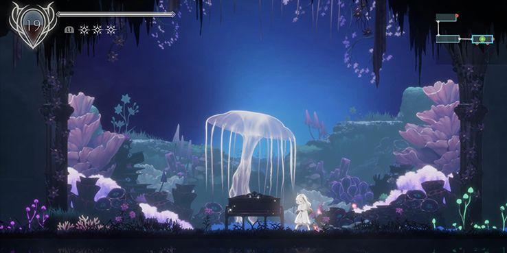эндер лилии обзор светящийся фиолетовый гриб