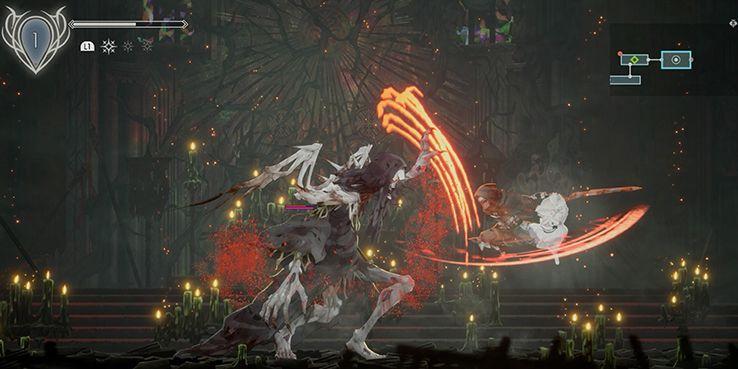 эндер лилии обзор битва с боссом зигрид