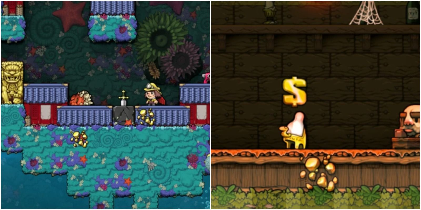 Spelunky 2: How To Get The Hedjet & What It's Used For