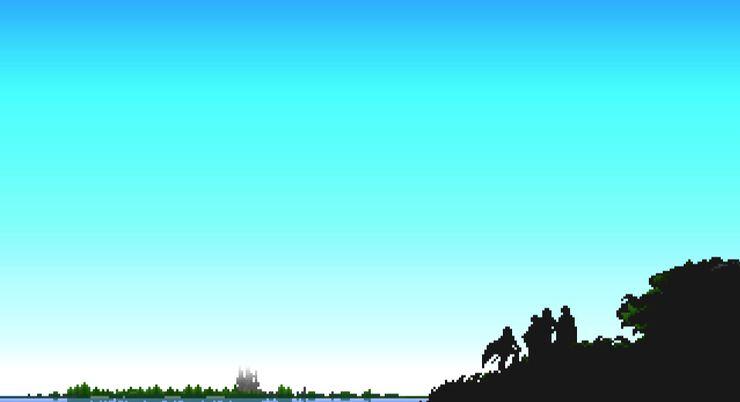 воины света, смотрящие за горизонт