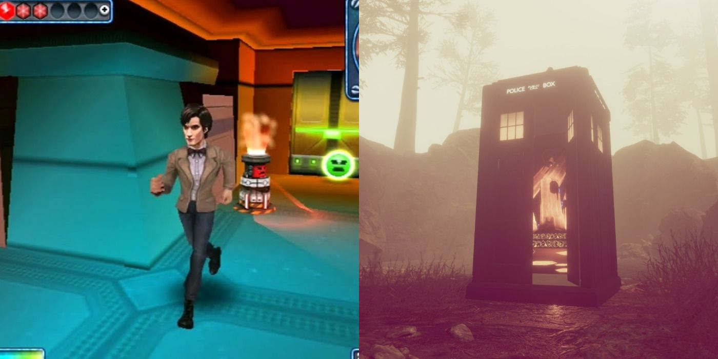 Every Doctor Who Game, Ranked   Game Rant