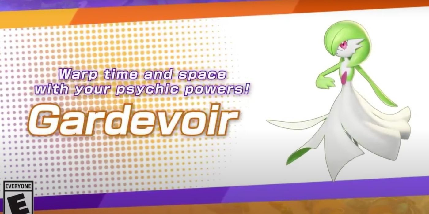 Pokemon Unite is Adding Gardevoir to the Roster | Game Rant