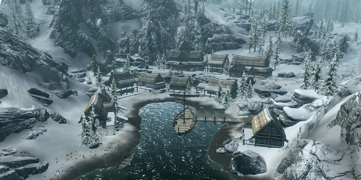Skyrim Player Finds Secret Invisible Chest in Dawnstar With A Ton of Loot