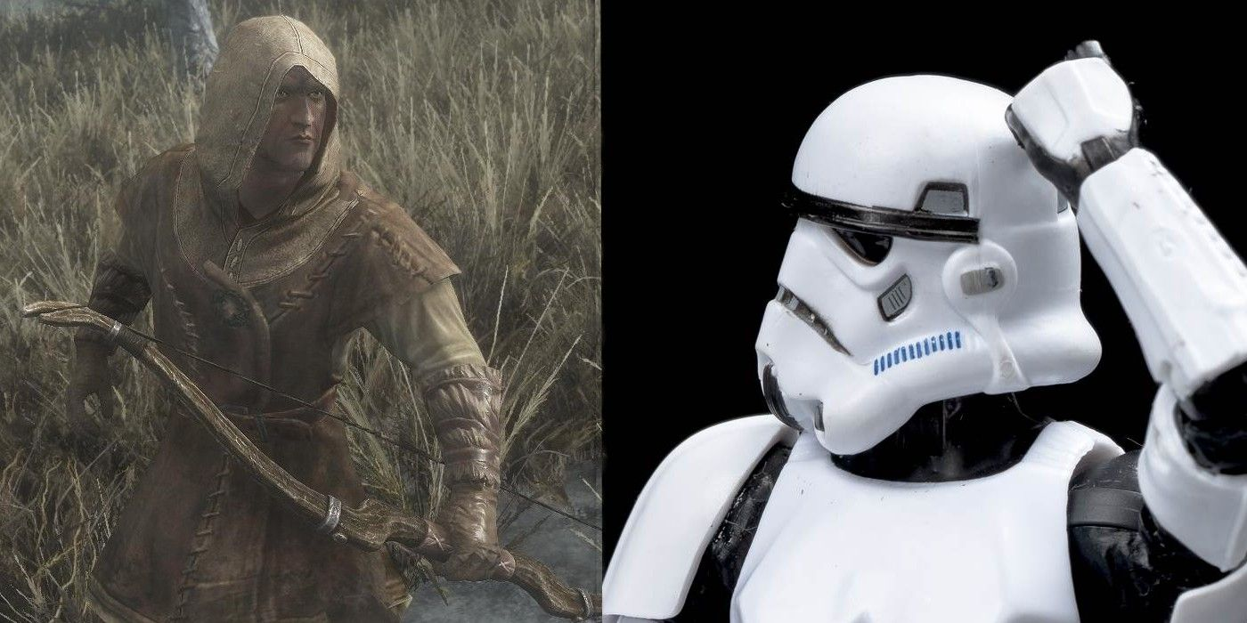 Hilarious Skyrim Clip Shows How Hunters Are Just As Bad As Stormtroopers