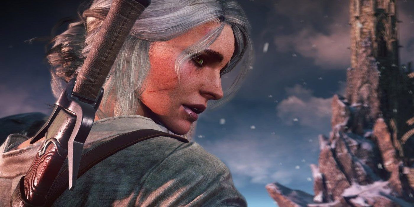 Skyrim Player Makes Ciri from The Witcher in the Game