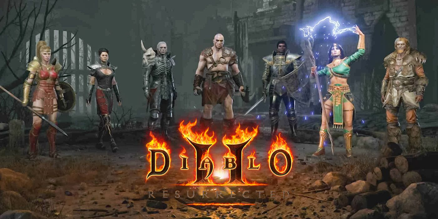 Diablo 2: Resurrected - Explaining the Major Differences Between the Classes