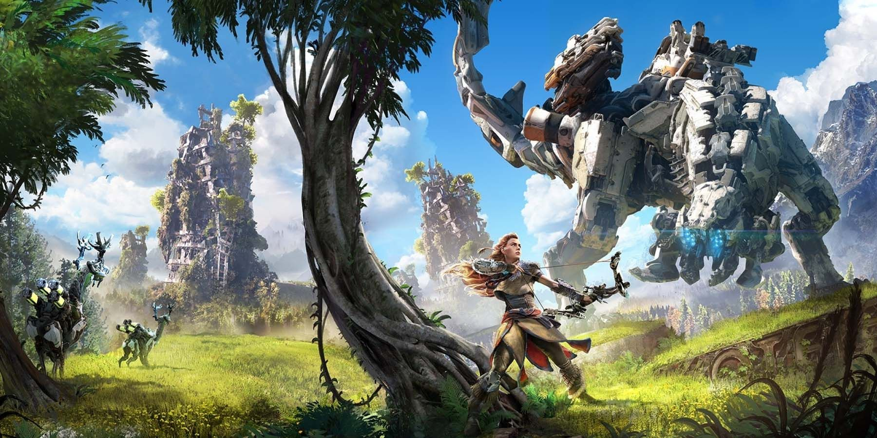Horizon Zero Dawn's Logo Change is a Good Sign For Things to Come