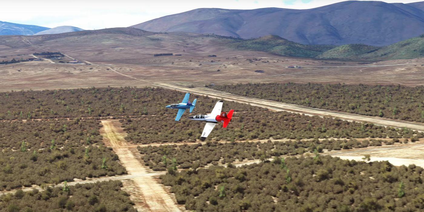 Microsoft Flight Simulator Adding Competitive Multiplayer Air Races