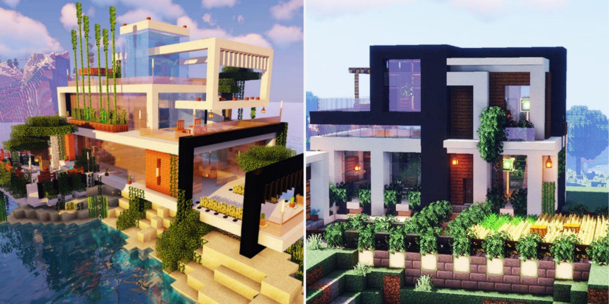 Minecraft 20 Modern House Design Ideas That Are Stunning