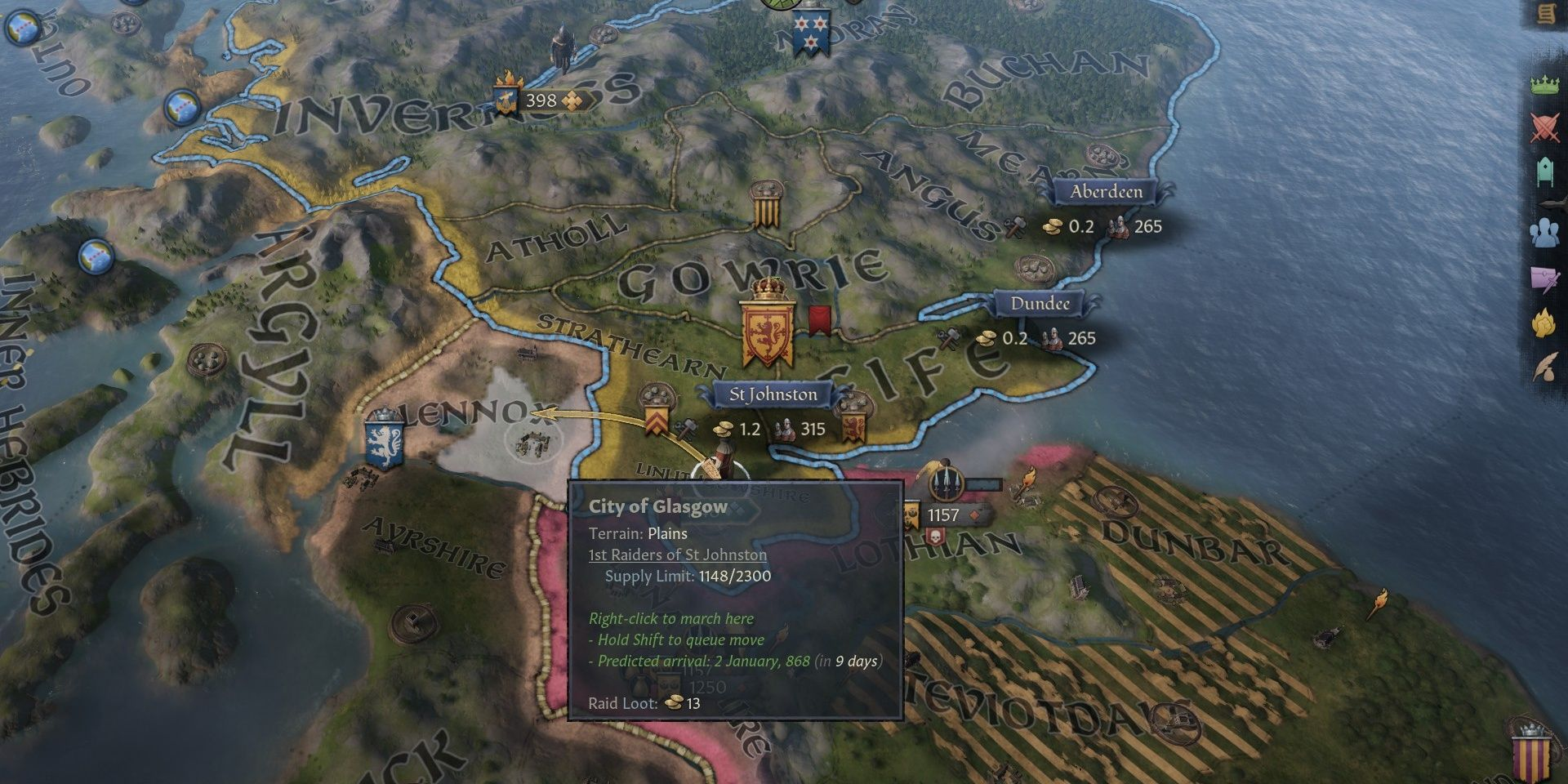 Crusader Kings 3: How To Earn Gold Quickly