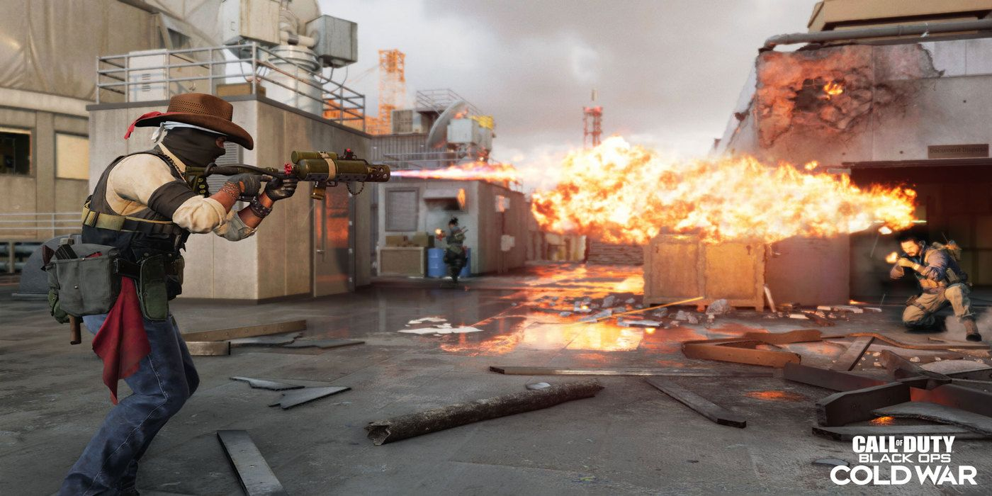 Call of Duty: Black Ops Cold War Adding Flamethrower in Season 5