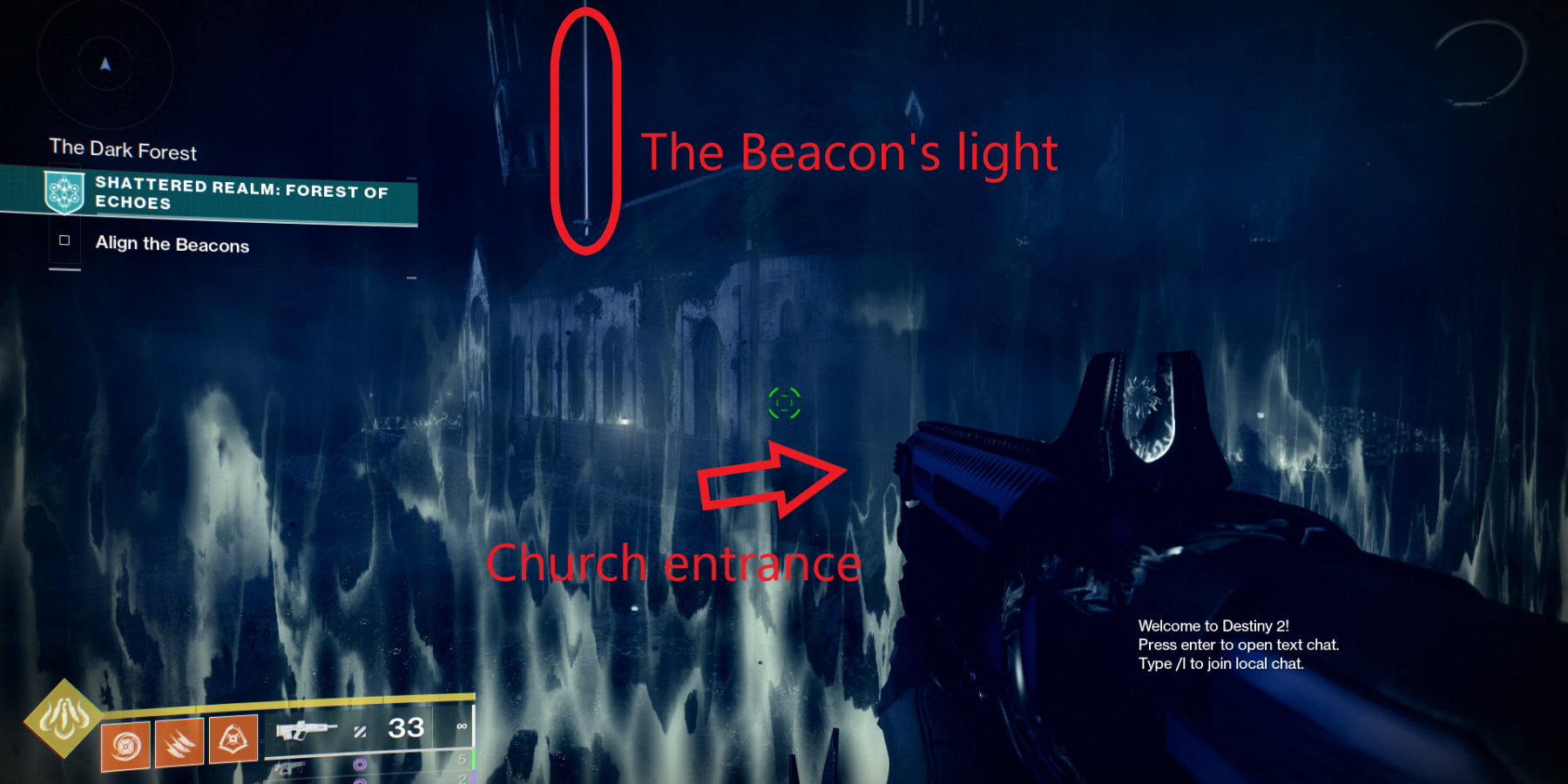Destiny 2: How to Align the Beacons (Shattered Realm Forest of Echoes)