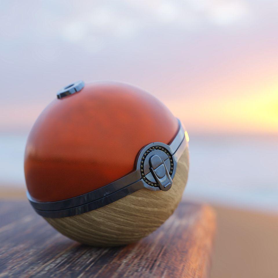 Pokemon Legends: Arceus Fan Creates Realistic 3D Poke Ball