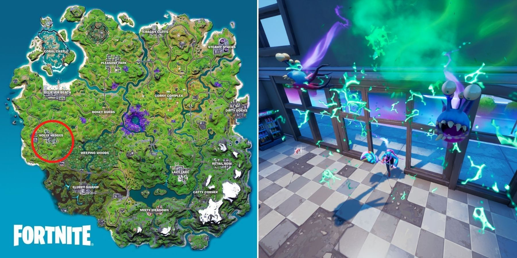 Fortnite: How to Deal Damage with Parasite Attached
