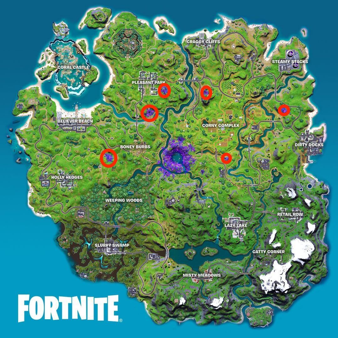 Fortnite: Where to Deploy Scanners within the Alien Biome for Week 12 Challenge