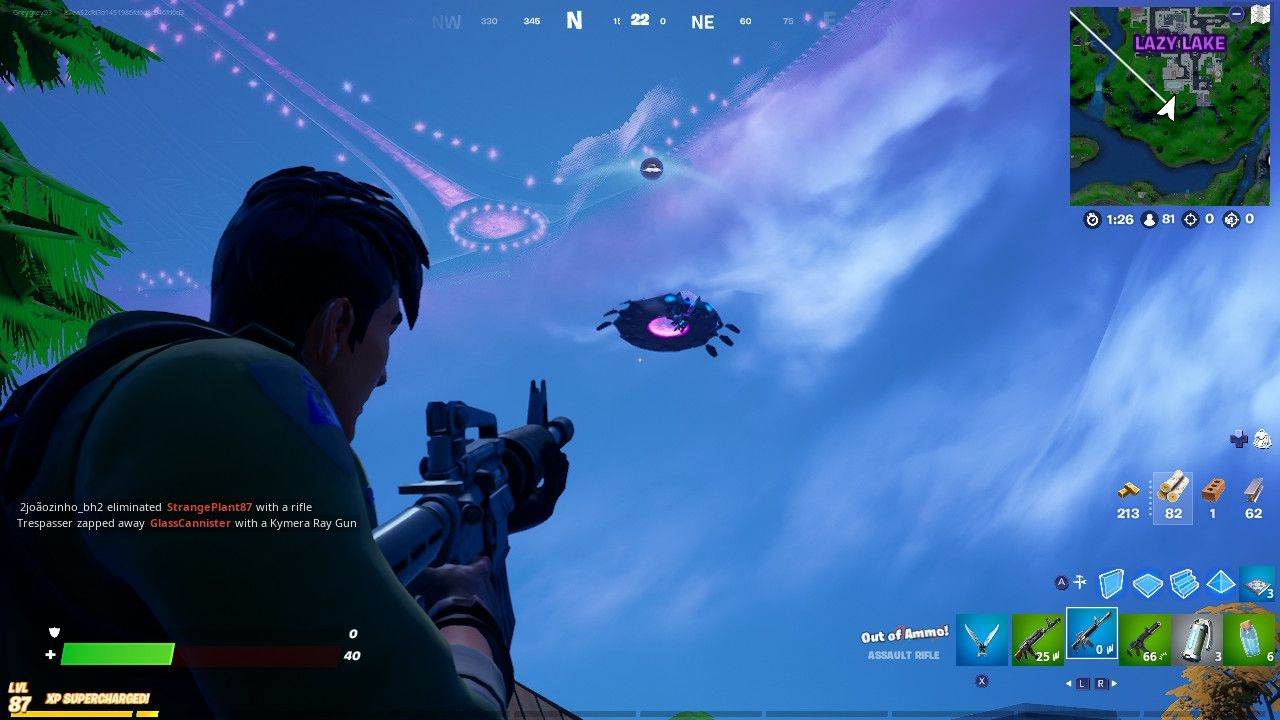 Fortnite: How to Deal Damage to Saucers Piloted by Opponents