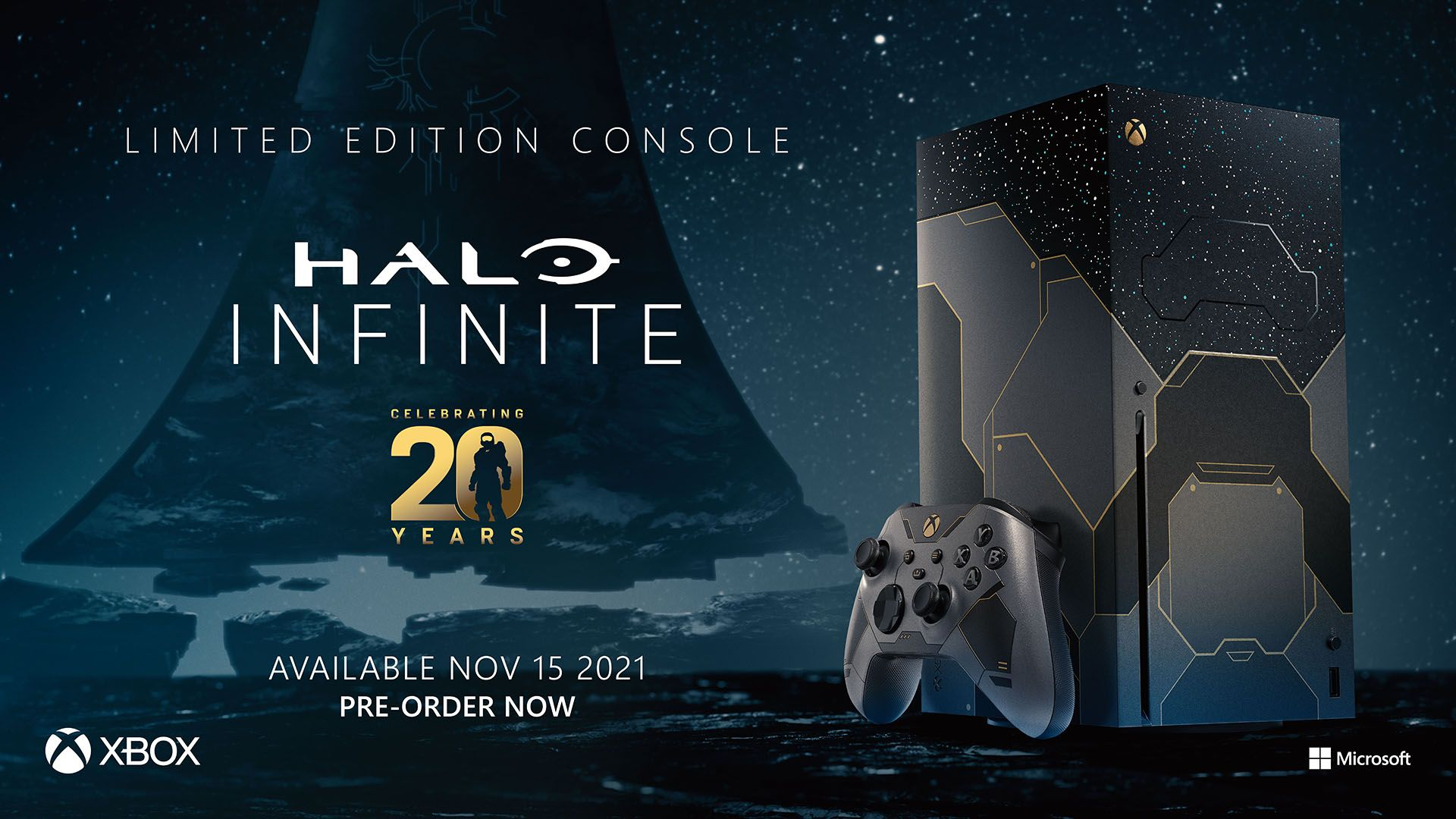 Microsoft Releasing Gorgeous Halo Infinite Themed Xbox Series X Console for twentieth Anniversary