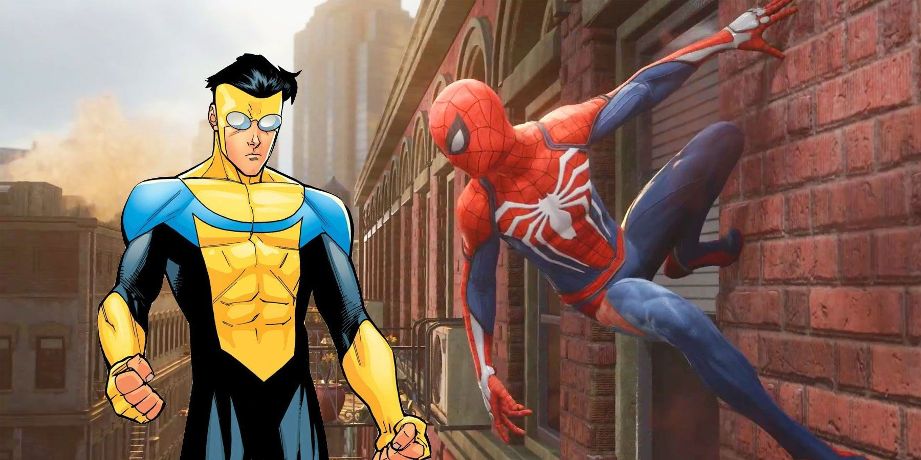 An Invincible Game Could Be An M-Rated Marvel's Spider-Man