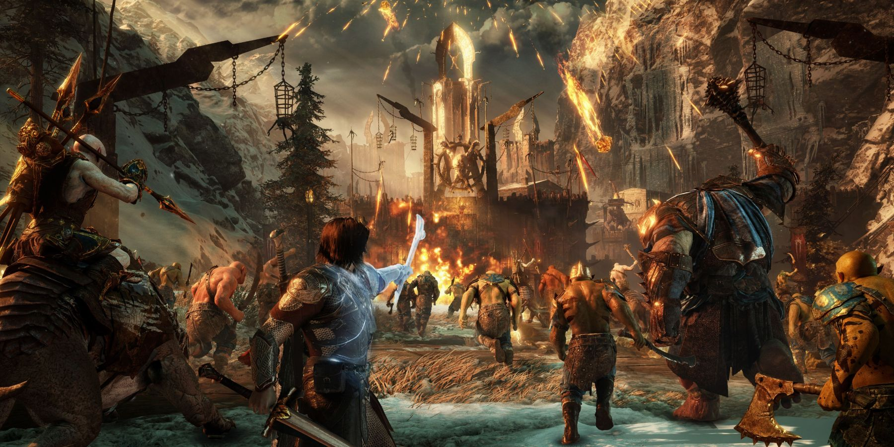 Bethesda Needs to Learn From Shadow of War's Nemesis System