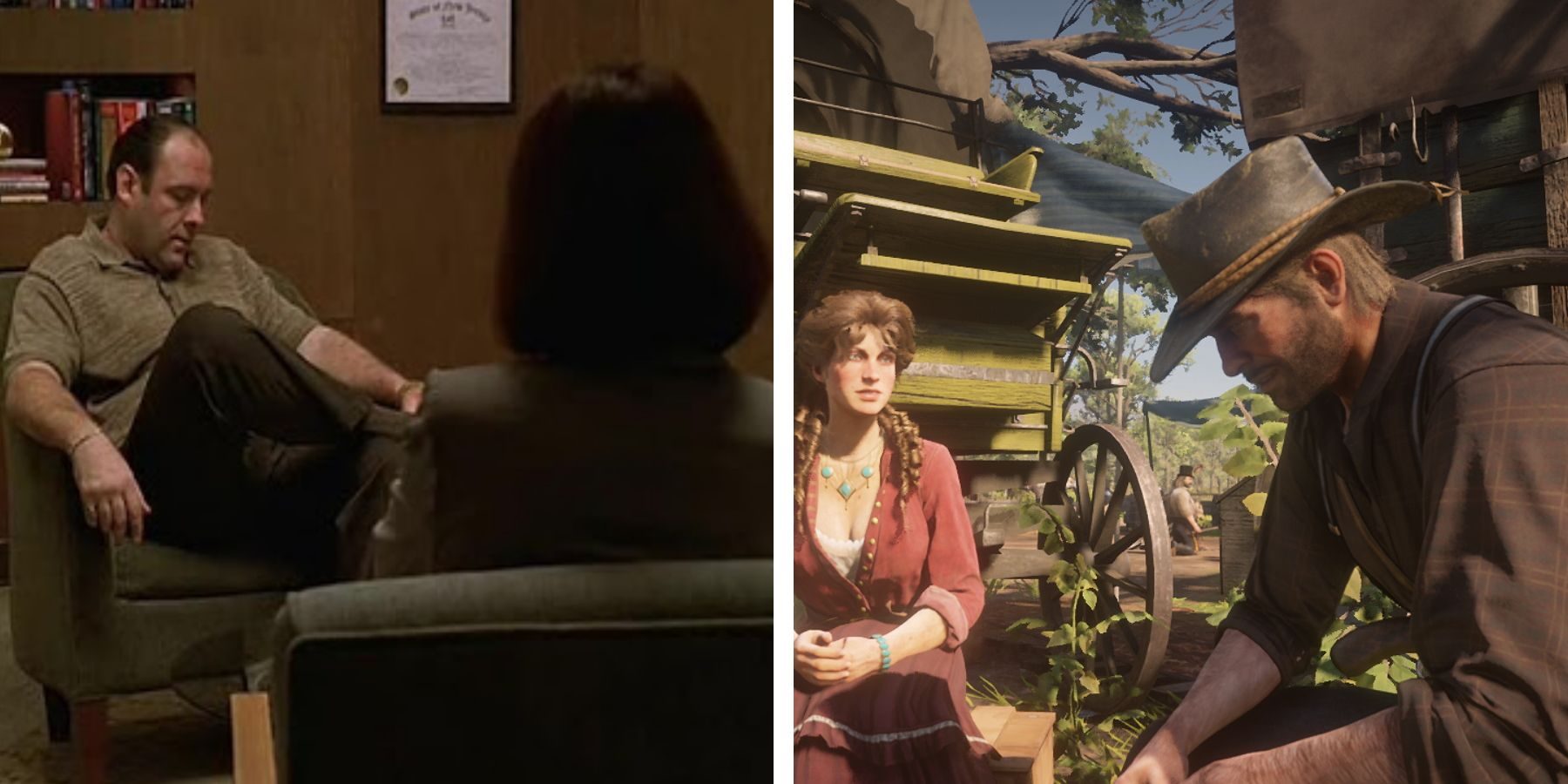 Red Dead Redemption 2 Shares Thematic DNA With The Sopranos