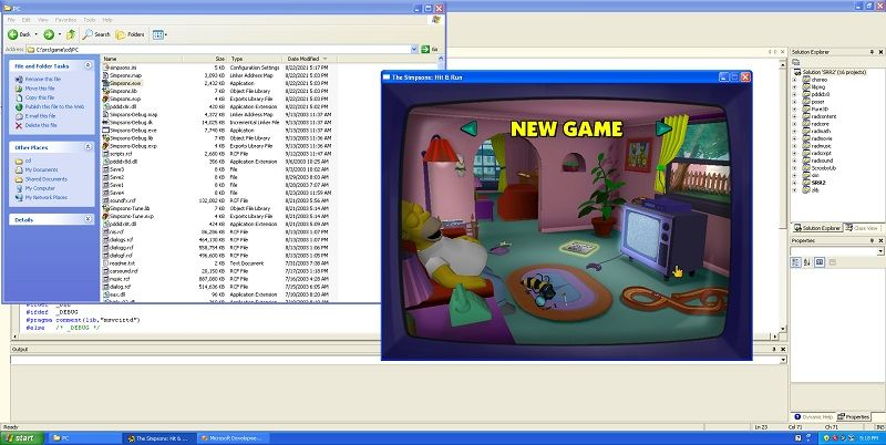 The Simpsons Hit and Run Source Code Leaks Online