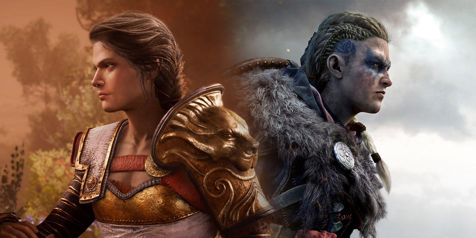 Assassin's Creed Odyssey vs. Valhalla: Kassandra is More of an Assassin than Eivor