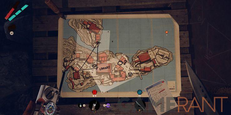 Карта Deathloop очищена