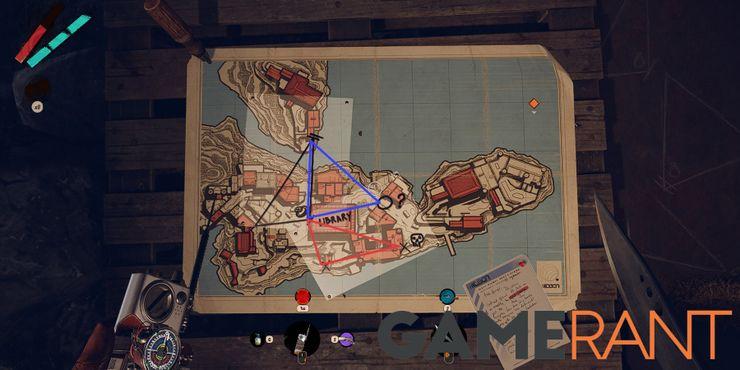 Карта Deathloop