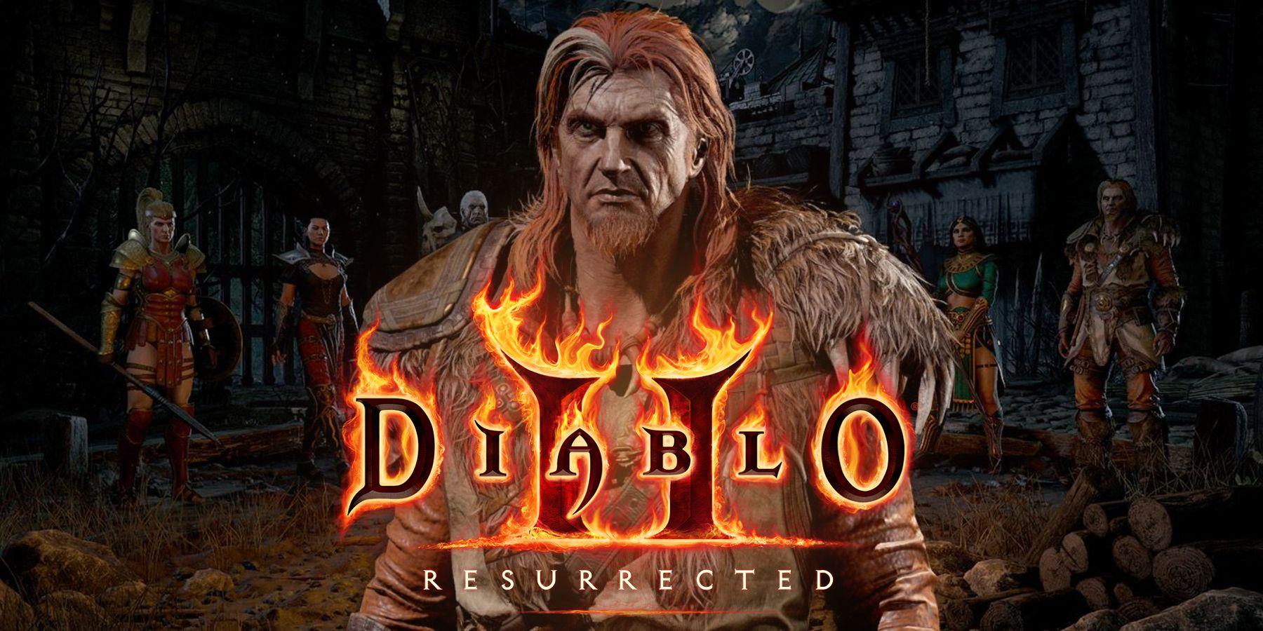 Diablo 2: Resurrected Releases Druid Class Trailer - GameRant