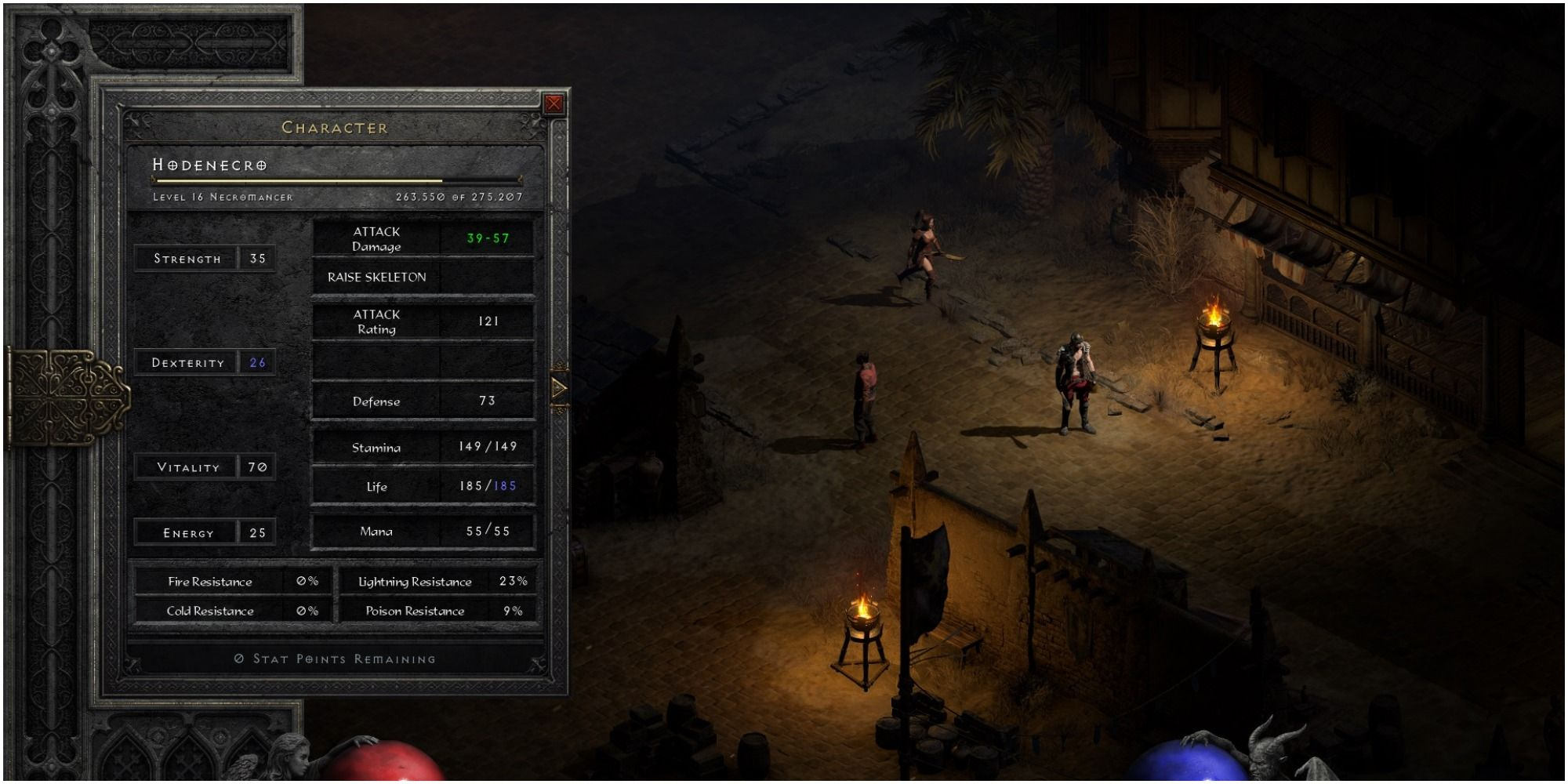 Diablo 2: Resurrected - Como construir um The Summoner Necromancer 2