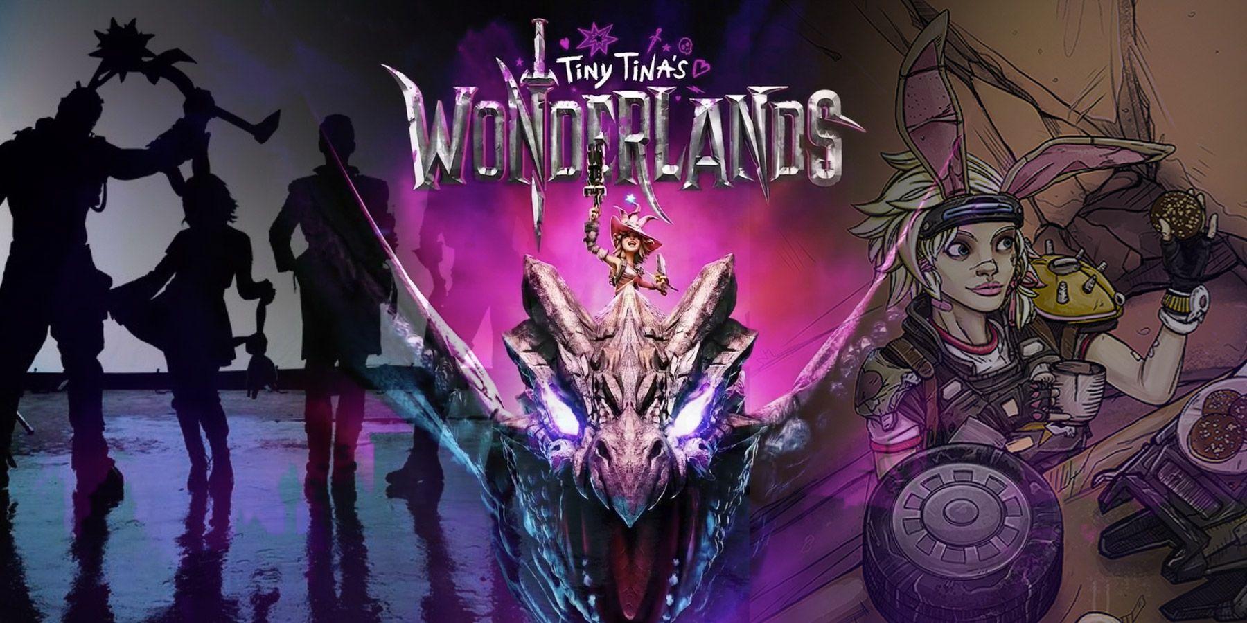 Tiny Tinas Wonderland liderando la carga