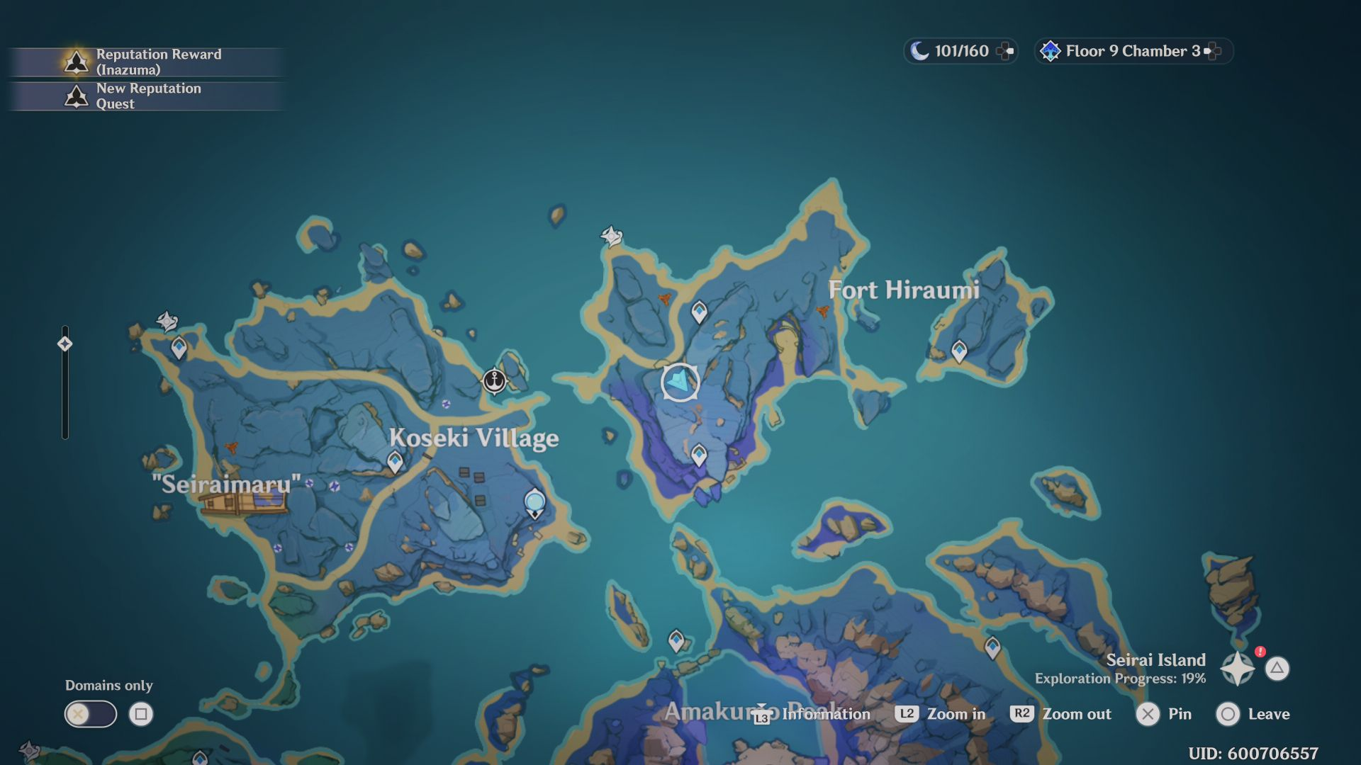 Genshin Impact: How to Go to Seirai Island and Take Pictures