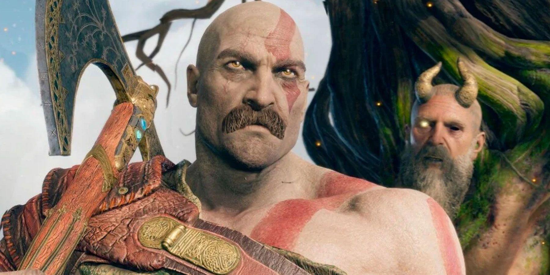 God of War Fan Edit Gives Kratos A Mustache