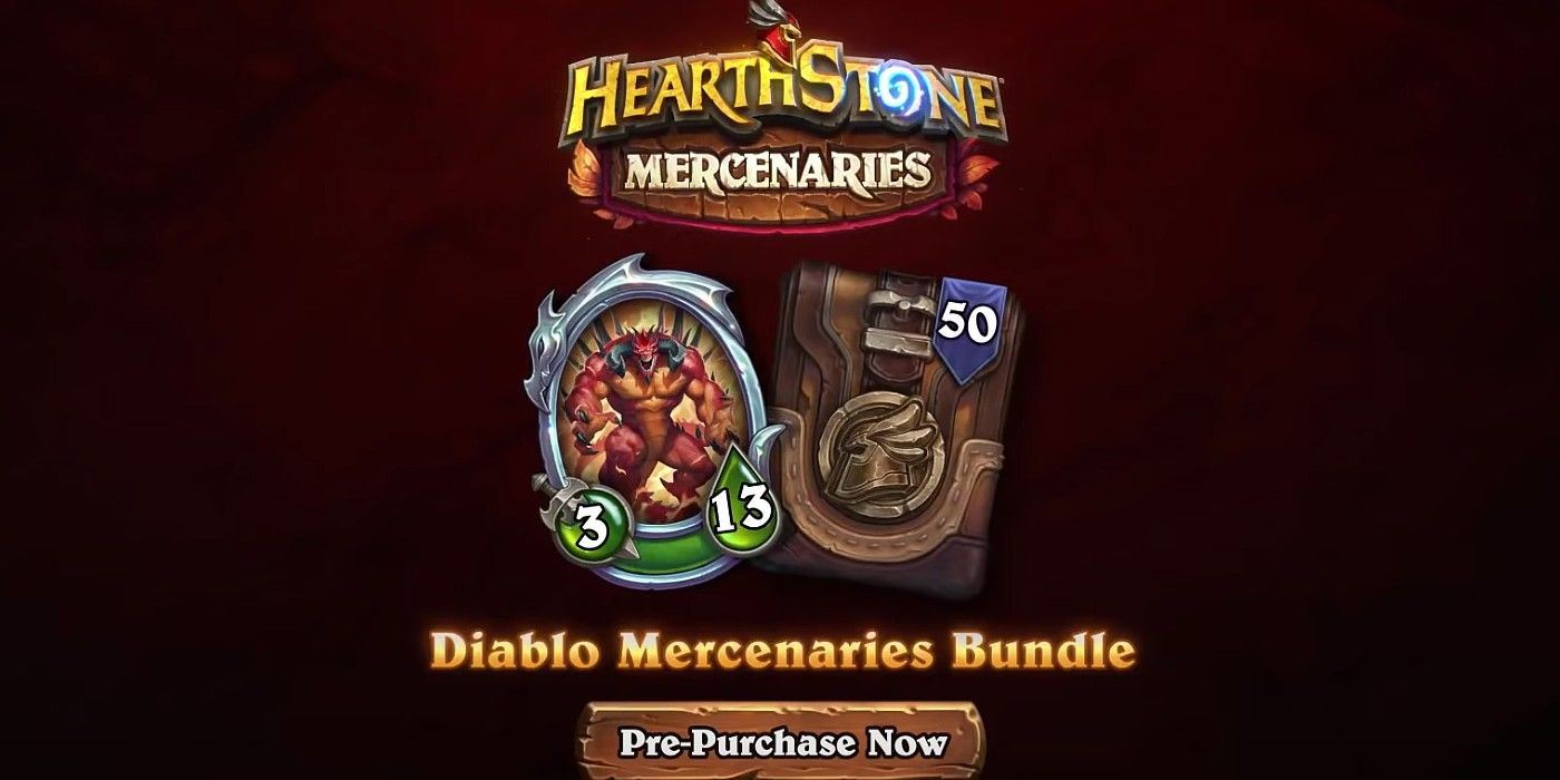 Hearthstone Mercenaries Expensive Pre-Purchase Could Set a Worrying Trend