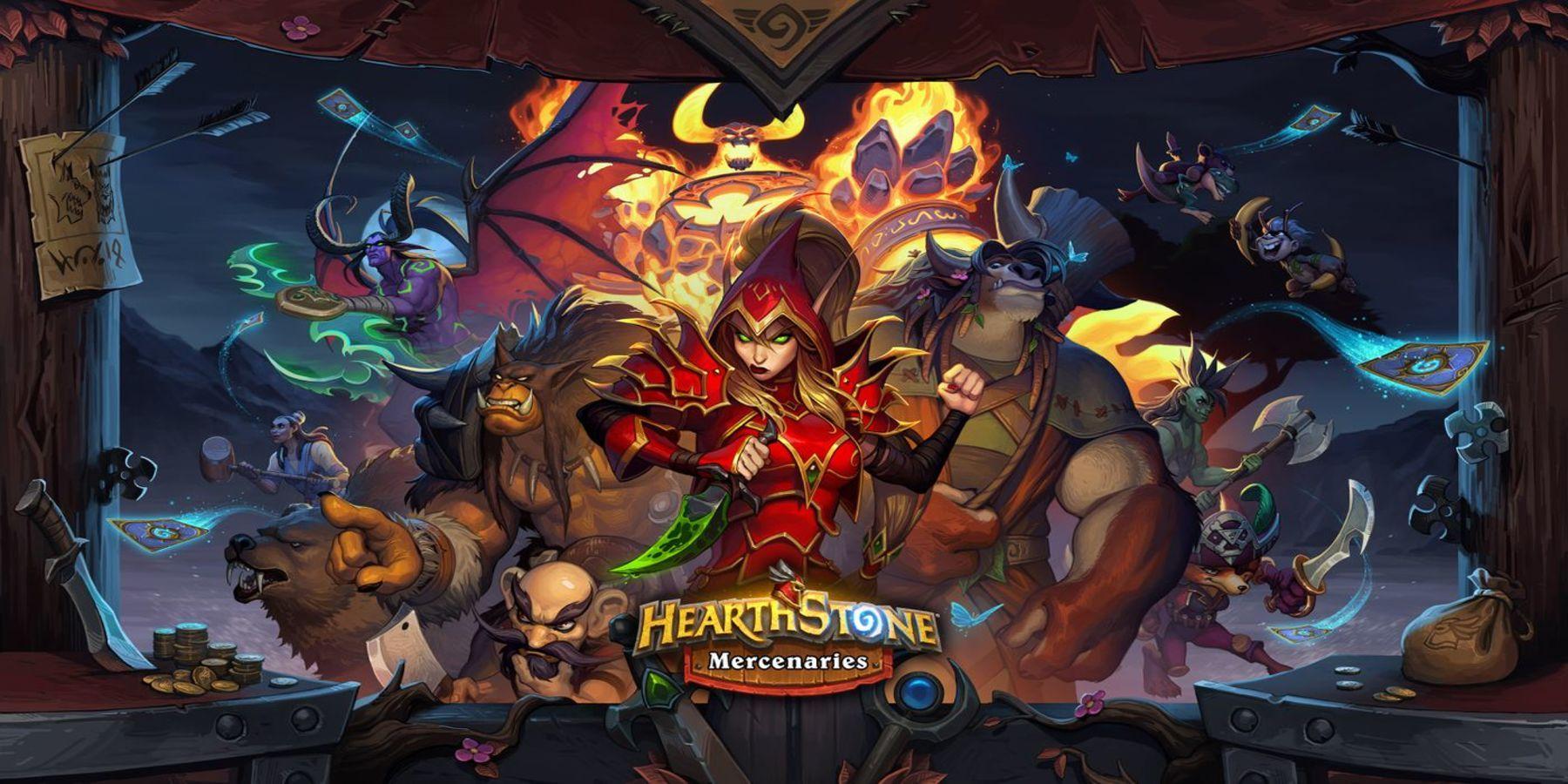 Hearthstone's New Mercenaries Mode Explained