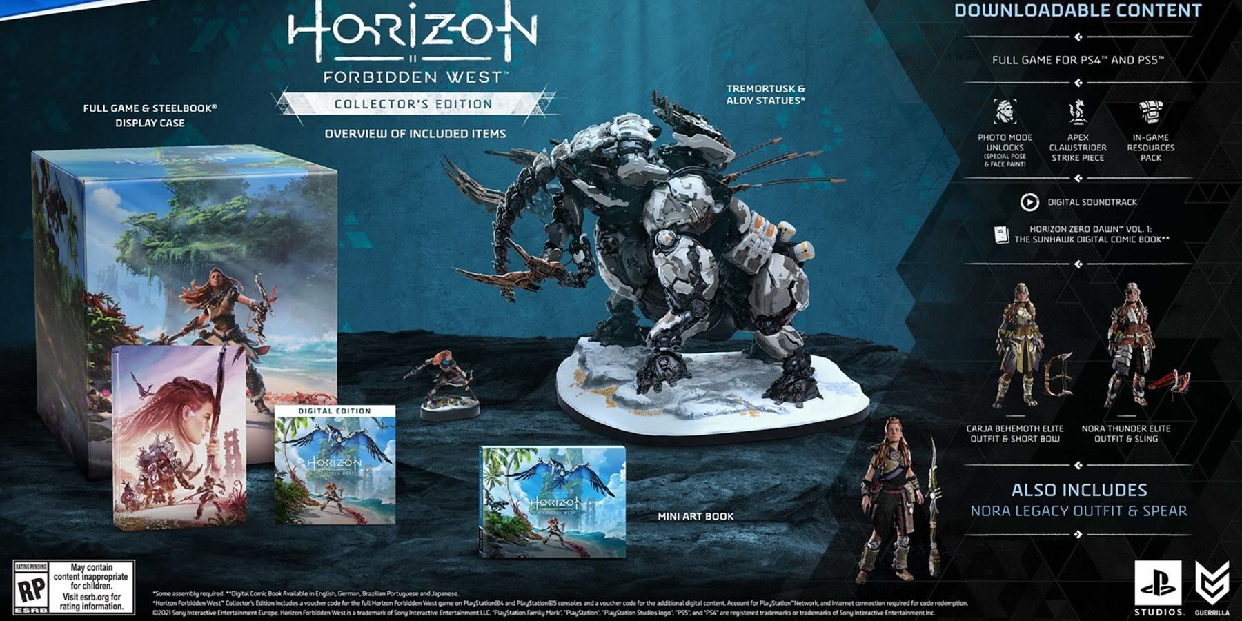 Horizon: Forbidden West Includes a Board Game Called Strike