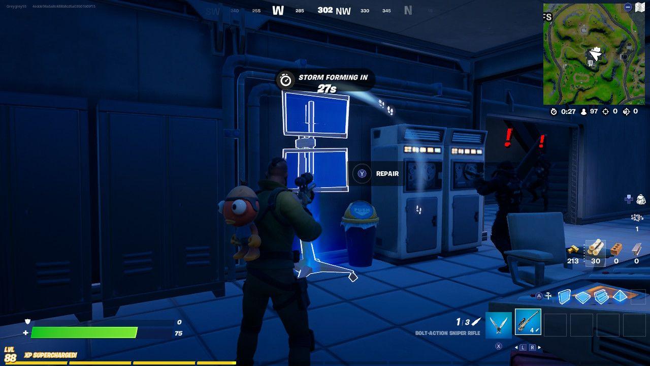 Fortnite: 'Repair IO Equipment' Locations for Season 7, Week 13 Quest