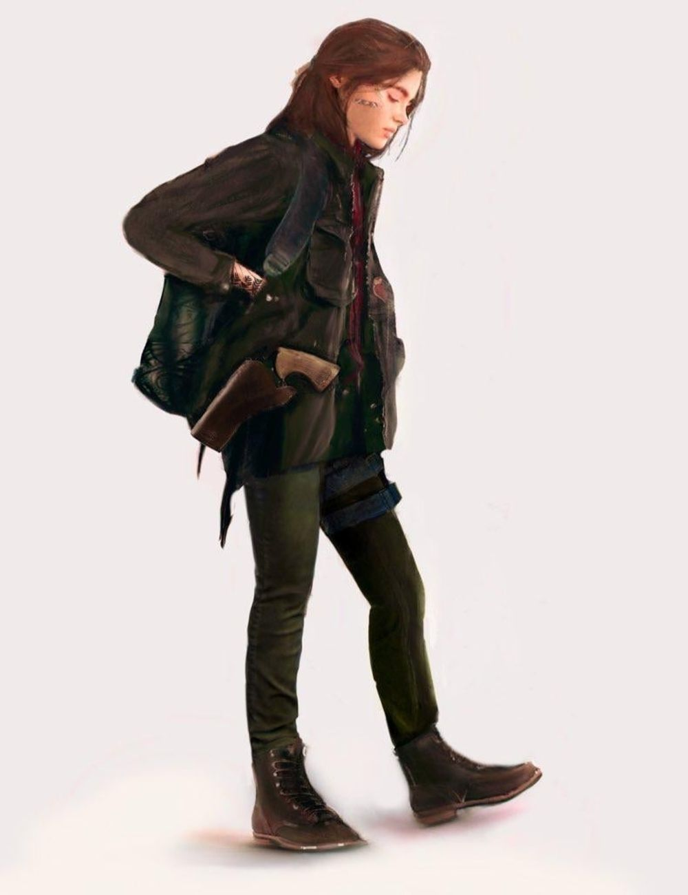 Incredible Painting Shows What Ellie Could Look Like In The Last of Us 3