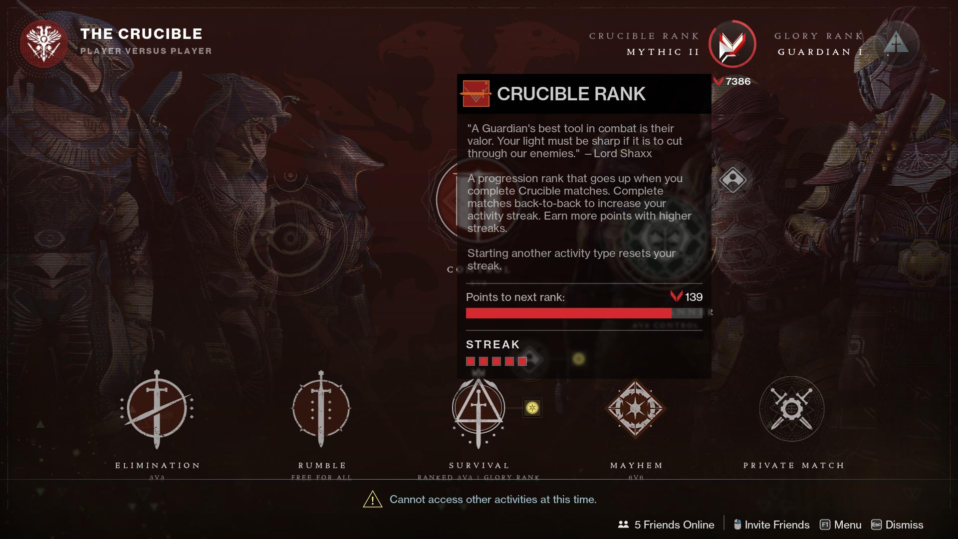 How to Reset Valor Rank in Destiny 2