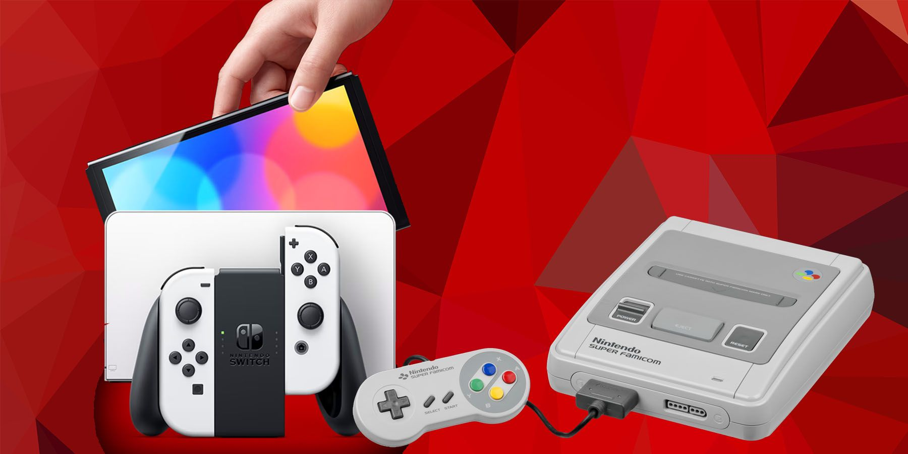 Nintendo Switch OLED Skin is Tribute to Super Famicom