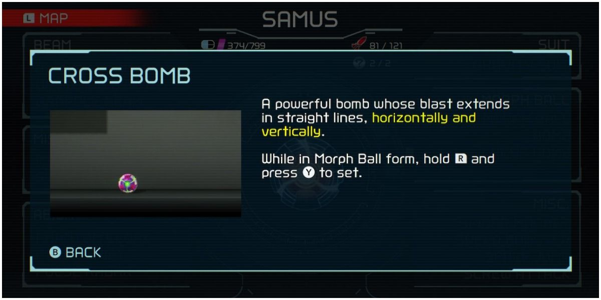 Metroid Dread: What To Do After Getting The Cross Bomb